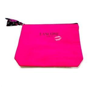 3 for $25 🔥 Lancôme Dark Pink/Red Makeup Bag